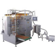 Liquid Sachet Filling Packing Machinery , Horizontal Flow P