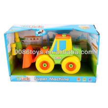 Los 21cm de la rueda libre del carro de la carretilla elevadora juguetes DIY, juguetes educativos