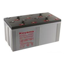 Calidad superior 2V batería estacionaria del gel -2V3000ah para el sistema de energía eólica
