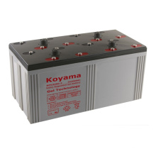 Batterie de gel stationnaire 2V de qualité supérieure -2V3000ah pour système d'énergie éolienne