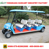 6 seater cheap CE approved electric Street legal club cart golf cart for sale