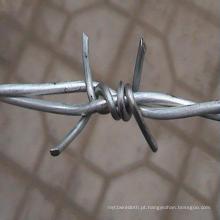 Hot DIP galvanizado Barbed Mesh para Fencing14 # X14 # X1 ''