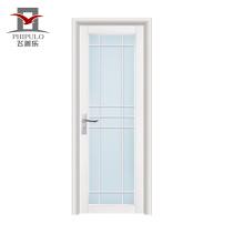 2018 alibaba tamaño estándar última puerta de baño de aluminio de diseño