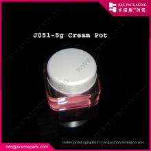 Pink Sample Jar Beauty Cosmétique Lipstick Container