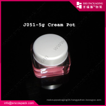 Pink Sample Jar Beauty Cosmetic Lipstick Container