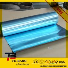 Lámina de aluminio hidrófilo / filtro de aire acondicionado / lámina azul
