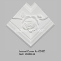 Crown Moulding Trim med Rose Design
