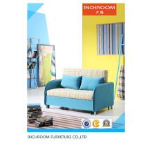 Современная ткань Складная мебель для гостиной Выдвижная диван-кровать