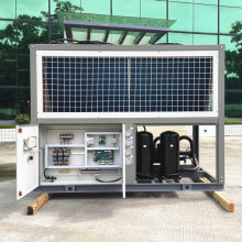Sanher Air Cooling Scroll Type Chiller for PVC Factory Plant Uses
