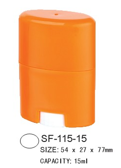 Oval Deodorant Stick Container SF-115-15