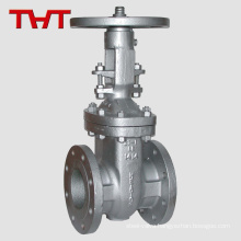 a216 dn80 cast steel rising stem sewer gate valve