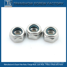 AISI 304 Stainless Steel Nylon Lock Nut M8
