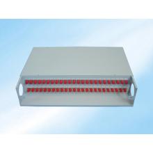 Estrutura de Distribuição de Fibra Óptica de Montagem em Rack Fixa 48fibers