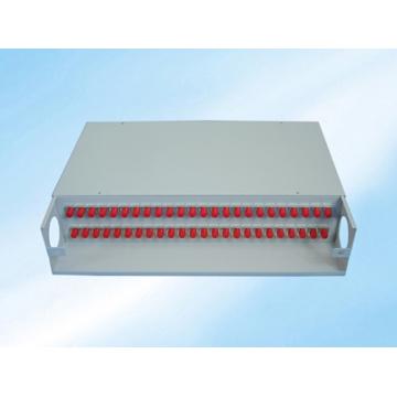 Cadre de distribution à fibre optique fixe à montage en rack 48fibers