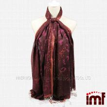 Bufandas modales de tela de cachemira