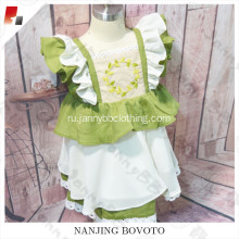 JannyBB spring chiffon fabric toddler dress