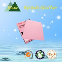 Eco-Friendly 70g colorido papel de impressão para impressora copiadora importada