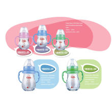 Bouteille de bébé à base de borosilicate neutre et neutre