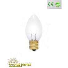 29mm E17 clara incandescente luz da vela com venda directa de fábrica