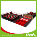 Kids indoor jumping trampoline bed