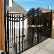 Cerca da grade das portas de Filipinas e projeto de aço da porta da cerca / grande porta dobro