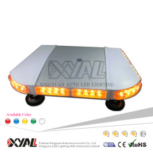 40W High Intensity 19 inches Strong Magnet Strobe Flashing Police Ambulance Emergency Warning Signal Car Slim LED Mini Light Bar