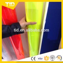 Etiqueta engomada fluorescente profesional del color de la película del vinilo del corte de la computadora del color fluorescente con el certificado del CE