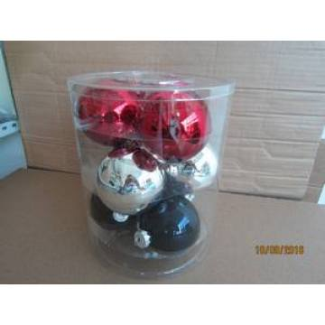 Set 9 Mixed Color Galss bola Forchristmas