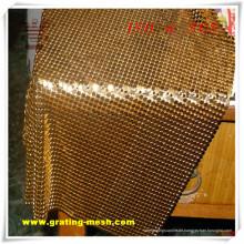 Hochwertiges dekoratives / Metallvorhang-Ineinander greifen für Architektur (ISO)