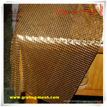 Maille décorative de rideau en métal de haute qualité pour l'architecture (ISO)