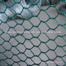 Red de alambre hexagonal recubierto de plástico de 20 mm