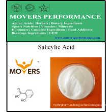 Fourniture de supplément nutritionnel de haute qualité - acide salicylique