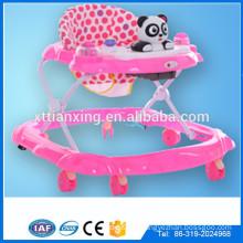 Fabrik Multifunktions-Schwenkräder Kunststoff-Baby-Puppe Spielzeug-Walker / Rolling Runde Kinder walke für Baby