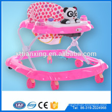 Factory Multi-function Swivel wheels plastic baby doll toy walker /Rolling round kids walke for baby