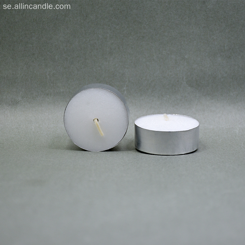 12g Wax Tea Light Candel 4 timmar