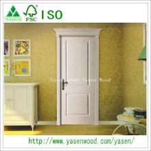 China Natural Veneer Paiting Wooden Internal Doors