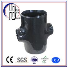 Cruz reductora de acero al carbono forjado (ajuste de soldadura a tope)