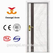 Chine moderne MDF mélamine sur mesure en bois portes