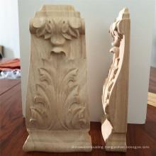 wood carving furniture Unfinished Wood Medium Pilaster Corbel