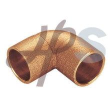 Encaixe de tubulação de solda C83600 de bronze de carcaça