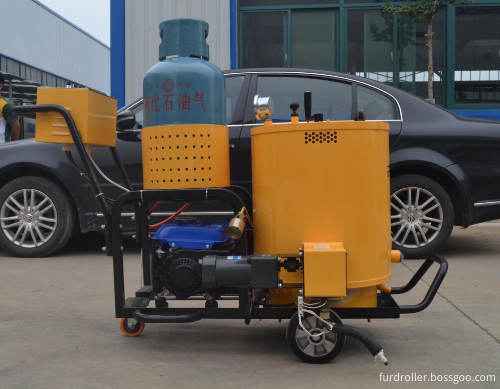 road sealing equipment