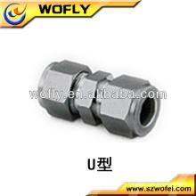 Raccords Lok de haute qualité Raccords en tube d'acier inoxydable