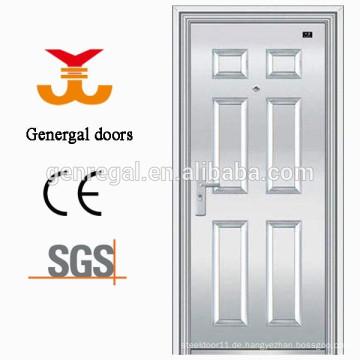 Hauseingang außen SS Edelstahl Tür Design