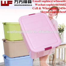 OEM Custom stackable storage box mould for plastic injection stackable storage container mold