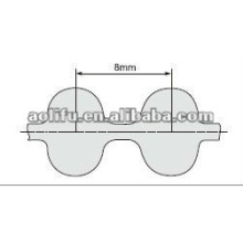 Rubber timing belt D8M