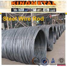Baixo fio de aço carbono SAE1006 / SAE1008 Rod para construção