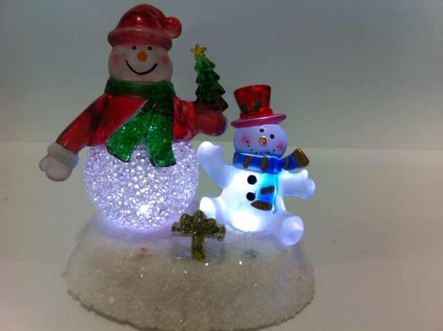 LED christmas decorations sale Snowman Light