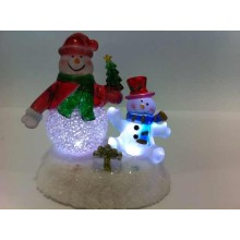 LED Christmas Gift Xmas Desk Lamp Snowman Lights