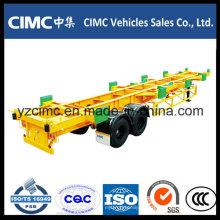 Cimc 40FT 2 Achse 65ton Hafen Container Terminal Semi Trailer