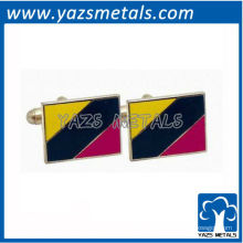 personalizar cufflink, mancuernas corporativas de alta qualidade personalizadas